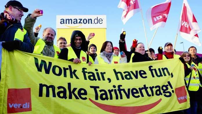 Verdi vs. Amazon: Gewerkschaften dürfen auf Betriebsgelände streiken