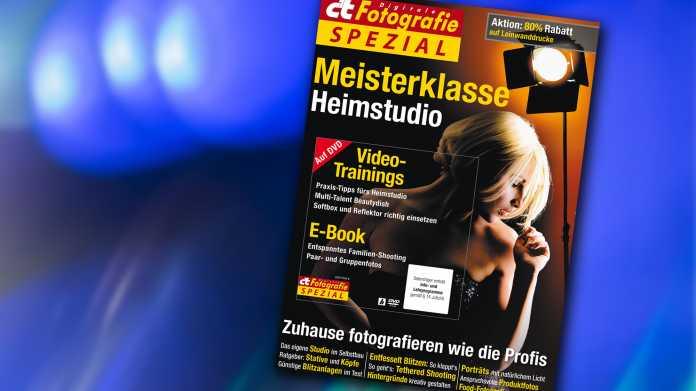 c't Fotografie Meisterklasse Heimstudio
