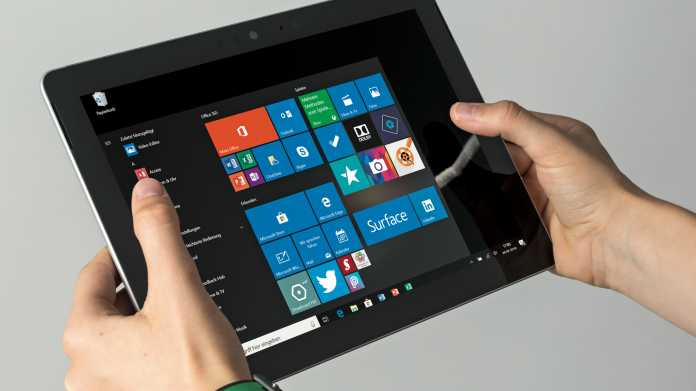 Microsoft Surface Go: Tablet mit Windows 10 und 3:2-Display