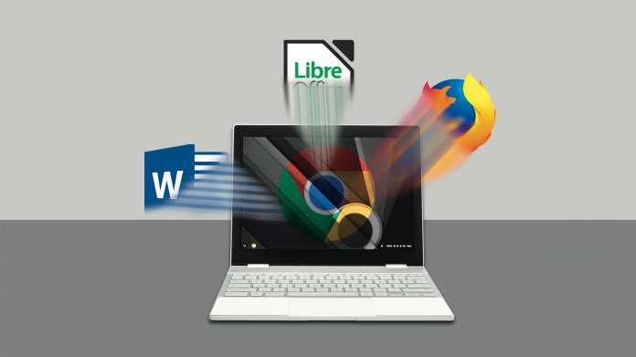 Android-Apps und Desktop-Programme auf Chromebooks installieren