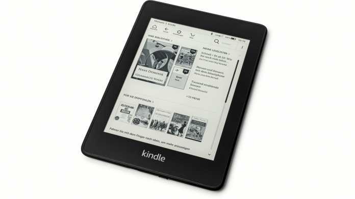 Kindle Paperwhite 2018: E-Book-Reader mit bis zu 32 GByte Speicher