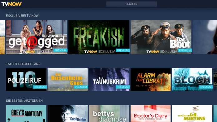 RTL vs. Netflix, Amazon & Co.: Mehr kostenpflichtige Inhalte bei TV Now für höheren Preis