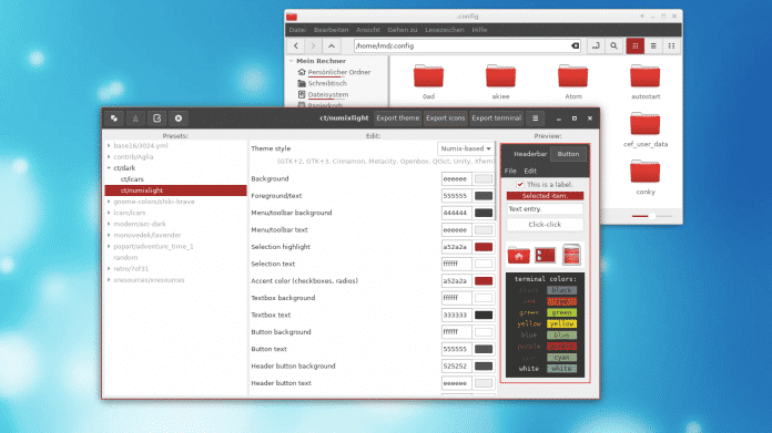 Eigene Themes für den Linux-Desktop zusammenstellen