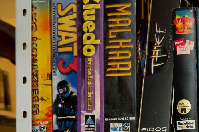 Aus der Sammlung des Computerspielemuseum Berlin