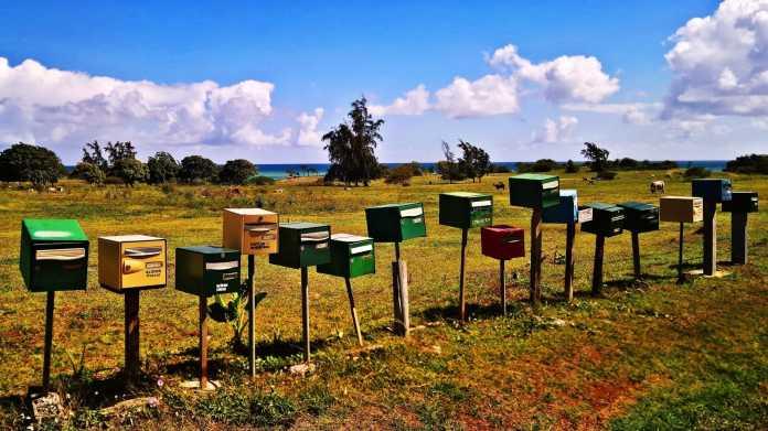 Post, Briefkasten