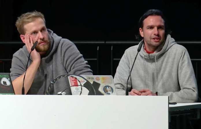 Julian Albrecht und Starbug