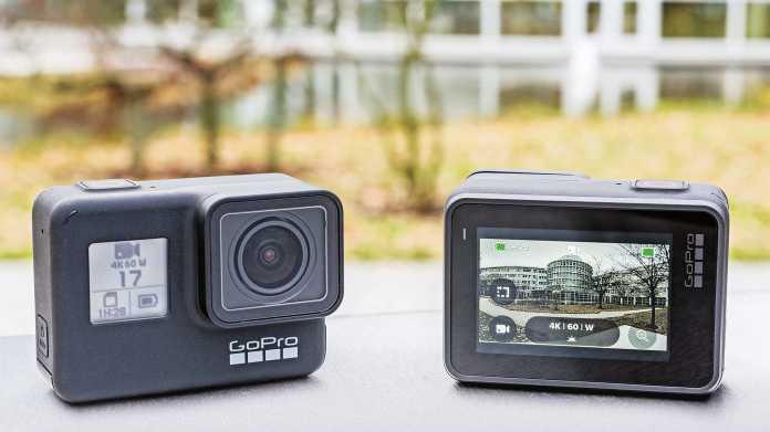 4K-Action-Cam GoPro Hero7 Black