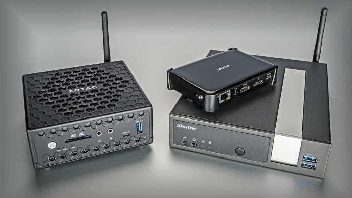 Gemini-Terzett: Drei lautlose Mini-PCs mit Intel Celeron J/N4000