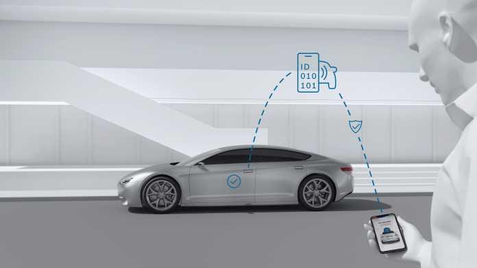 Bosch will Smartphones als Fahrzeugschlüssel nutzen