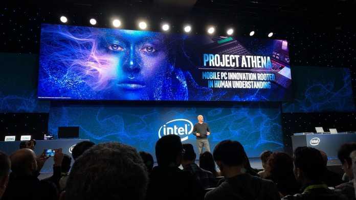 Project Athena: Intel kündigt Programm für bessere Notebooks an.