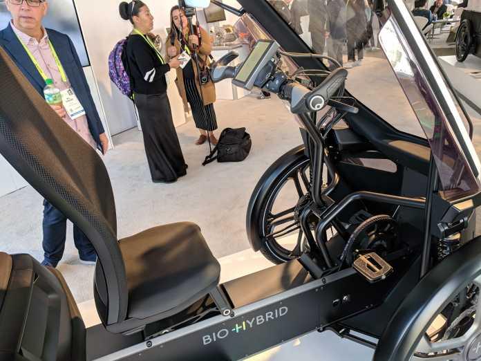 Das Cockpit: Einstellen lässt sich das Bio-Hybrid über das eingebaute Display, aber auf Wunsch auch per Smartphone.