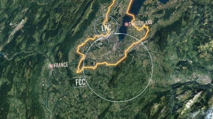 Future Circular Collider: CERN stellt Konzept für LHC-Nachfolger vor