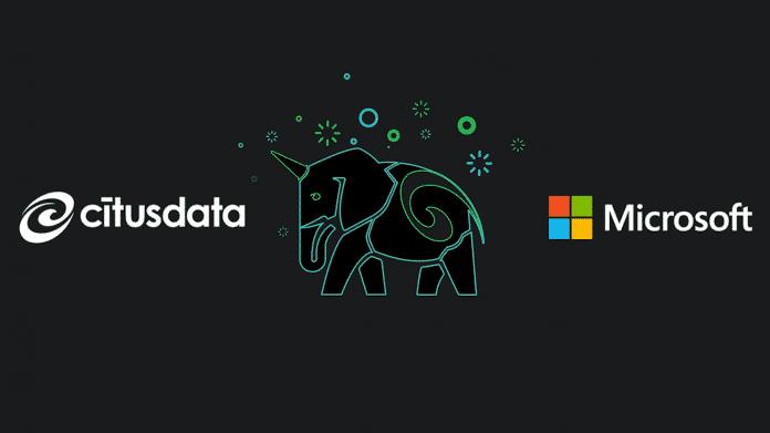 Microsoft übernimmt den Postgres-Datenbankspezialisten Citus Data