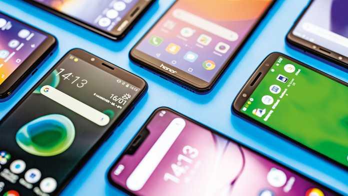 Sechs attraktive Einsteiger-Smartphones zwischen 120 und 180 Euro