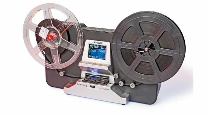 Automatischer Scanner für Super-8-Film