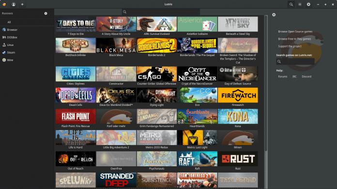 Alle Spiele unter einem Dach: Lutris 0.5 integriert GOG.com