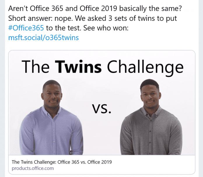 Eines der drei Werbevideos wird derzeit auf Twitter intensiv diskutiert.