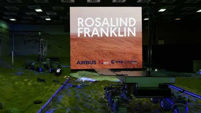 """ExoMars-Mission: Rover auf """"Rosalind Franklin"""" getauft"""