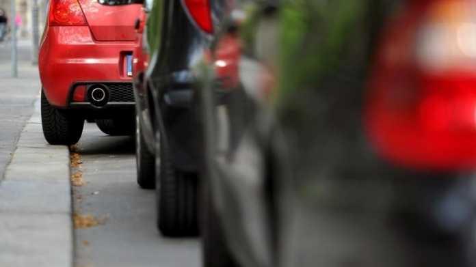 Parkplatz in der Stadt