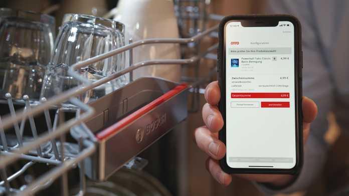 """""""Otto ready"""": Schneller Nachfüllware für smarte Haushaltsgeräte bestellen"""