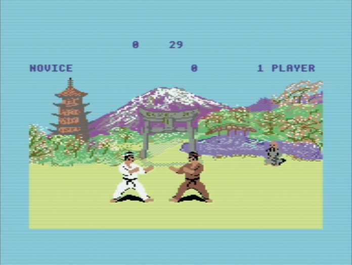 Schöner prügeln im Karate-Epos Way Of The Exploding Fist.