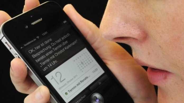 """Spracherkennung """"Siri"""""""
