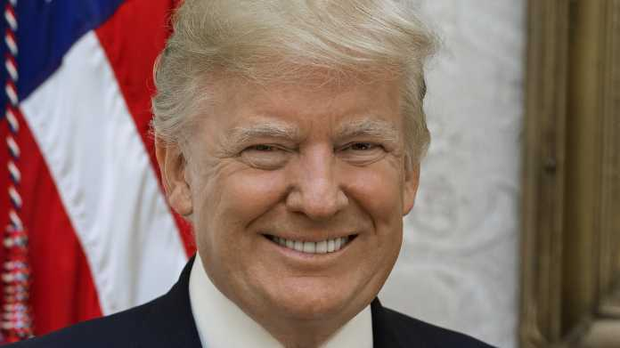 Trumps offizielles Präsidentenporträt
