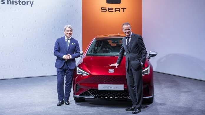 Elektroautos: Seat plant E-Auto für unter 20.000 Euro