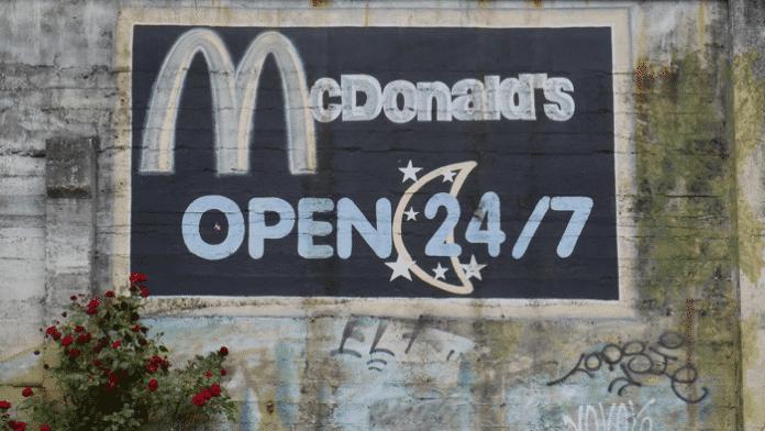 Big Mac goes Big Data