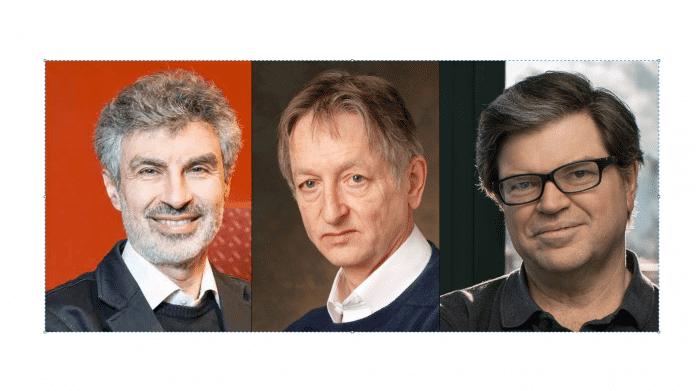 Yoshua Bengio, Geoffrey Hinton und Yann LeCun erhalten Turing Award