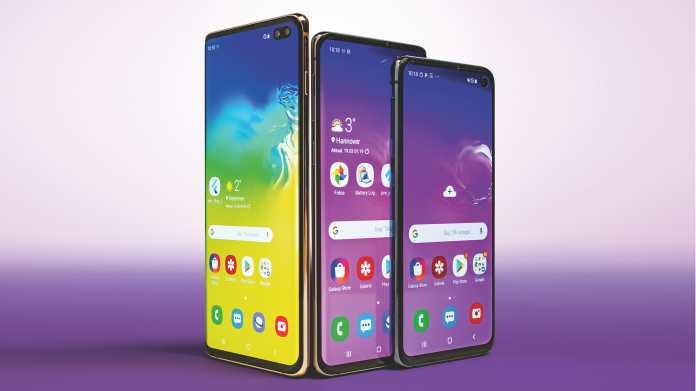 High-End-Smartphones Samsung Galaxy S10+, S10 und S10e