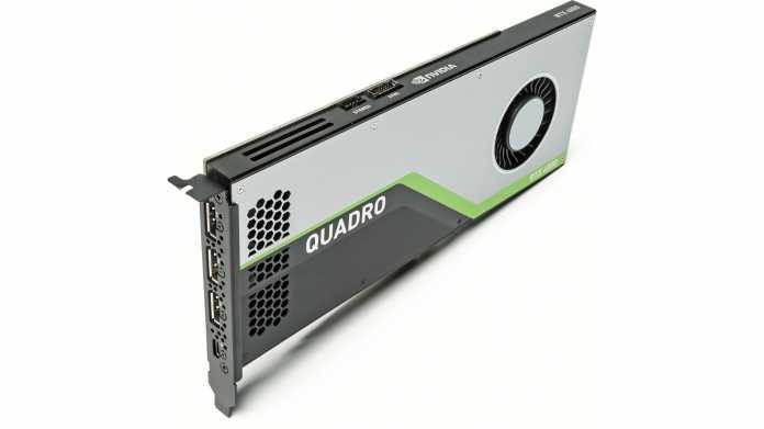Workstation-Grafikkarte Nvidia Quadro RTX 4000
