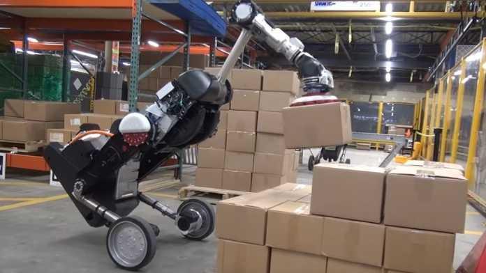 Handle: Bosotn Dynamics zeigt Roboter-Lagerist