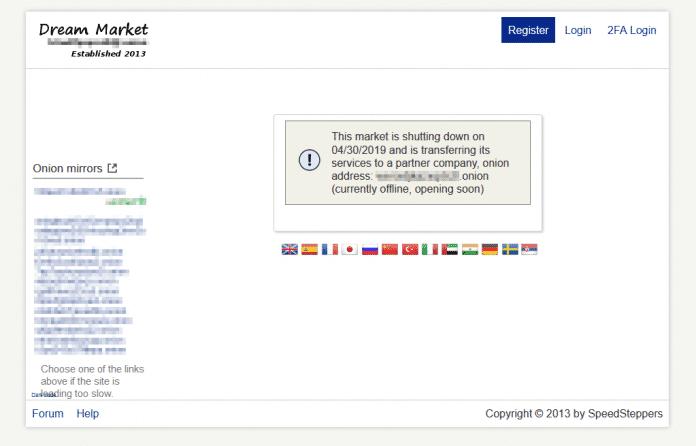 Seltsame Vorgänge bei Dream Market: Darknet-Marktplatz im Umzugschaos
