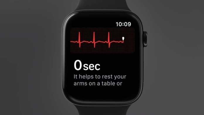 Kardiologen zum EKG per Apple Watch: Sollte nicht den Arztbesuch ersetzen
