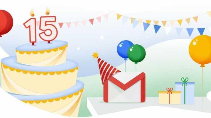 Google feiert 15. Gmail-Geburtstag