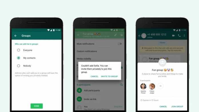 WhatsApp: Neue Kontroll-Option für Gruppen-Chats