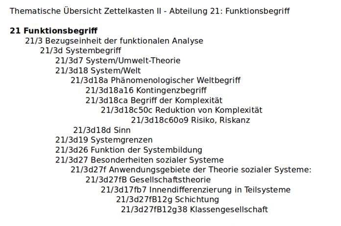 Johannes Schmidt, Niklas Luhmann-Archiv, Universität Bielefeld