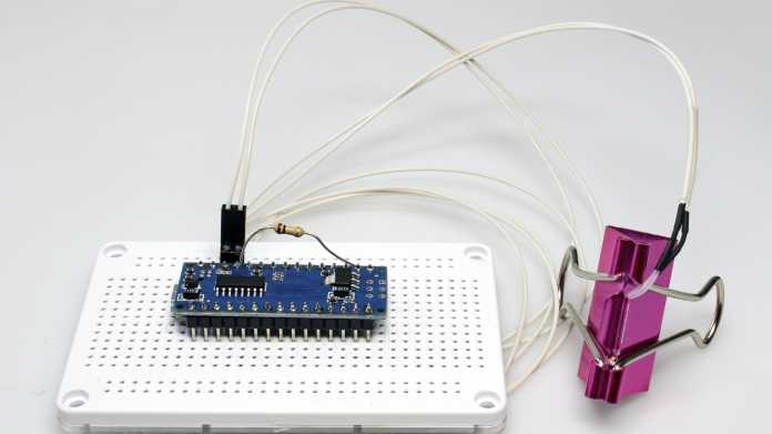 Arduino-USB-Thermometer