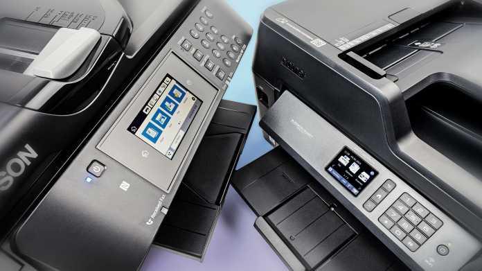 Multifunktionsgeräte mit Drucker und Scanner bis DIN A3