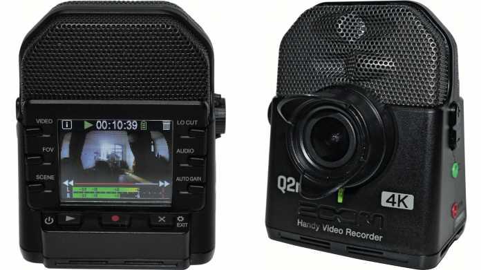 4K-Actioncam für Spitzen-Stereo-Sound