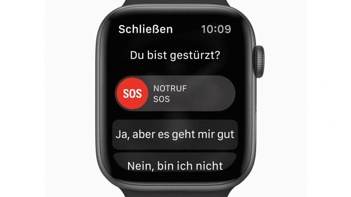 Apple Watch rettet 80-jährige nach Fallunglück