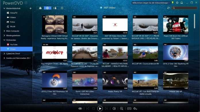 PowerDVD 19: weltweit erster Media Player mit 8K-Videowiedergabe