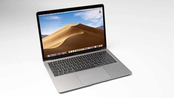 MacBook Air 2018: Software-Update soll Display heller machen