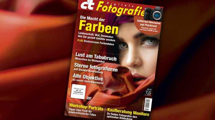 c't Fotografie 03/2019: Alte Objektive an modernen Kameras