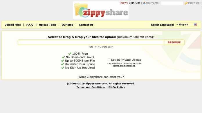 Filehoster Zippyshare sperrt Nutzer in Deutschland aus