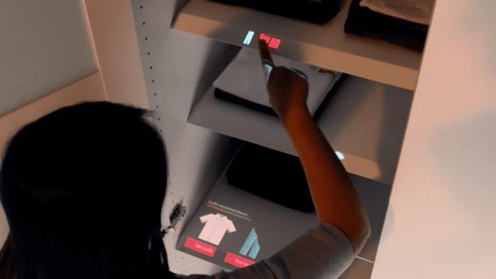 Wenn der Schrank zum Touchscreen wird