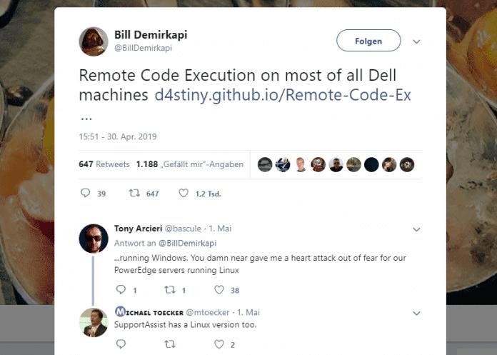 Bill Demikapir / Twitter