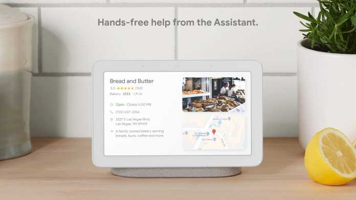 Smart Display mit Google Assistant nun in Groß und in Deutschland