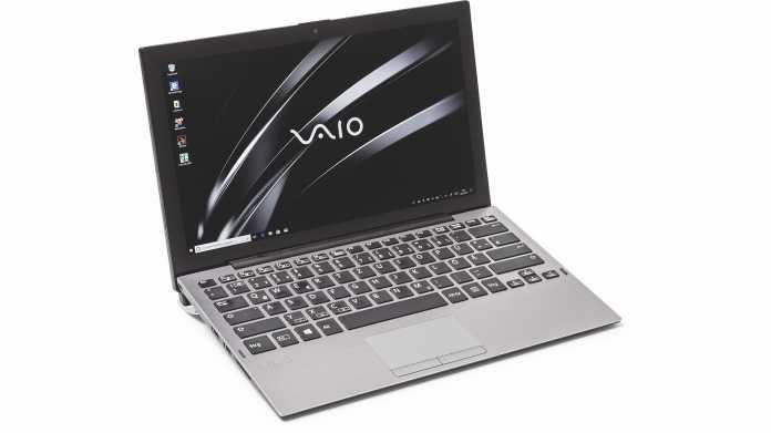 Windows-Tablet Vaio A12 mit schnittstellenreichem Tastaturdock